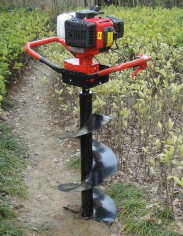 Screw Type Power Auger Post Hole Digger Gas Powered For Digging Holes