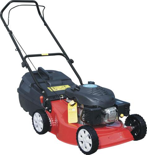 Small size 19 Inch Hand push gasoline garden grass lawn mower  equipment