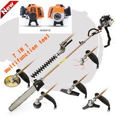 China Powerful petrol multi strimmer for garden and agriculture , grass strimmers petrol supplier