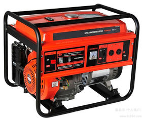China Muti-fuel Durable 5000w Portable Gasoline Generator for small power machine use supplier