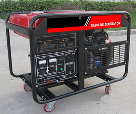 China Electric key start 10kw 10kva Portable Gasoline Generator AC Single Phase Output Type supplier