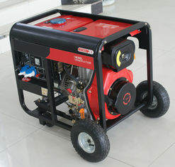 China 6KVA/5KW Air-Cooled Open Type Small Portable Diesel Generator Set Minimal vibration supplier