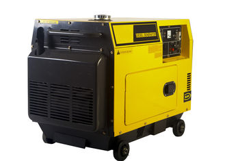 China 5KW AC Single Phase Power Small Portable Diesel Generator Electric Start supplier