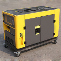 China 230V/400V 50Hz Small Portable Diesel Generator , AC 3 Phase mobile diesel generator supplier