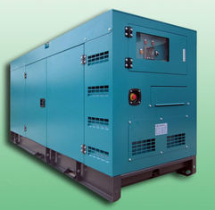 China Open / Silent 100KVA Diesel powered portable generator set , diesel backup generators supplier
