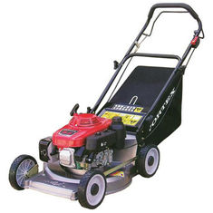 China 22 Inch Self - propelled garden lawn mover , portable petrol Lawn Mower supplier