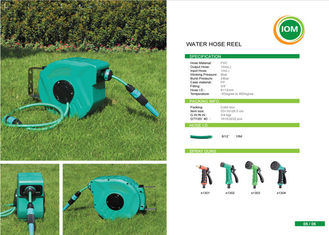 China Garden auto rewind / Retractable Water Hose Reel wall mounted 10m supplier