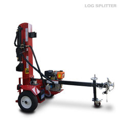 China Diesel engine power hydraulic Firewood Log Splitter , log splitting equipment supplier