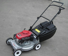 China Commercial Hand Push Garden Lawn Mower , Gasoline 18inch Lawn Mower supplier