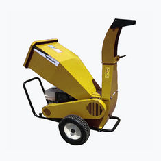 China Adjustable 13HP Industrial Wood Shredder Horizontal Wood Chipper 4.1/3.5-4 supplier