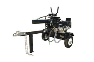 China Petrol 2 Handle Forest Firewood Log Splitter Briggs Engine 6.5HP Firewood Cutting Machine supplier
