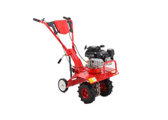 China Gasoline Rotary Small Gas Powered Garden Tiller , Front Tine Tiller 175-350mm Tilling Depth supplier