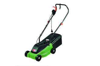 China Electric Industrial Lawn Mowers 1200W / 32cm Portable Lawn Mower Easy To Use supplier