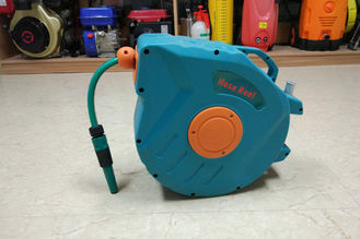 China Self-Laying System Retractable Water Hose Reel For Hose Neat Auto Retraction supplier