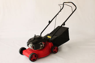 "China Adjustable Hand Push Garden Lawn Mower Standard Single 139CC 18"" / 460mm supplier"