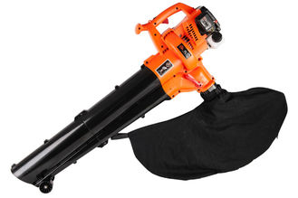 China Lighter Package Garden Leaf Blower Gasoline Petrol Vacuum / Sweeper Nozzle supplier