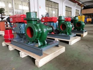 China Farm And Irrigation Diesel Water Pump / 8 Inch Water Pump With Copy Honda Engine supplier