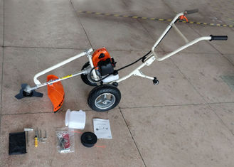 2 Stroke Gasoline Petrol Brush Cutter With 3T Metal Blade Strong Power