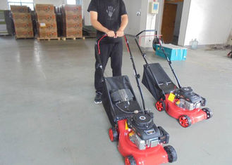 "China Low Emission Smart Garden Lawn Mower With 99cc Petrol Engine 16"" Size supplier"