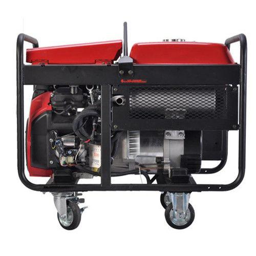 50Hz 60Hz AC Three Phase Portable Gasoline Generator , 12kw home