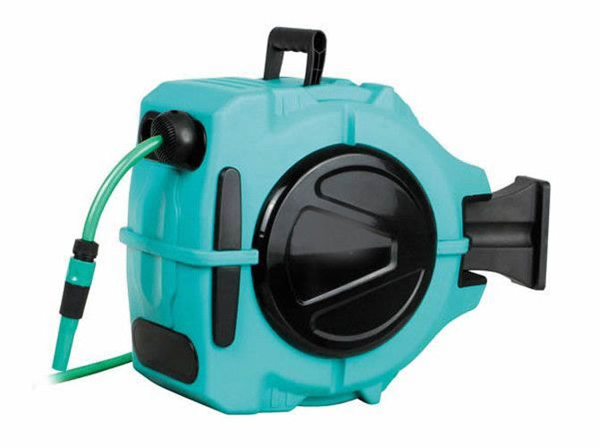 30M 1/2 inch Auto - rewind Hose Reel with customized expandable hose