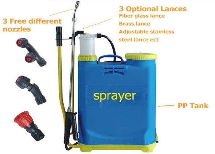 Agricultural Manual Battery Operated Knapsack Sprayer16l Knapsack Pressure Sprayer