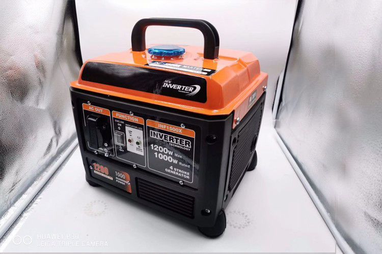 Small Gasoline Powered Portable Generator / Silent 1.2KW Inverter Generator