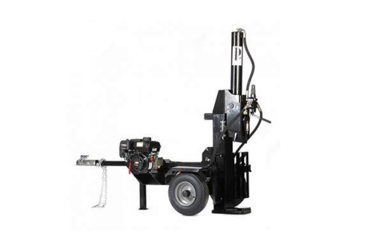 Manual Industrial Wood Splitting Machine / Power Wood Splitter 610mm Split Length