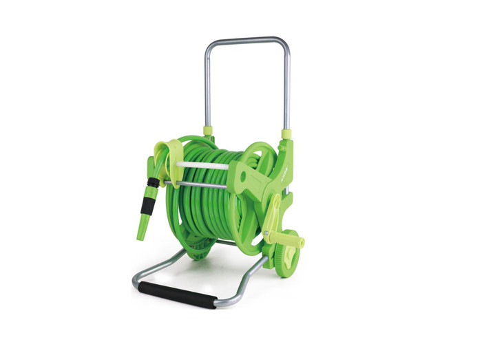 Garden Retractable Water Hose Reel Cart With 45m PVC Hose Material