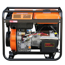 China Silent 5KW Small Portable Diesel Generator for household with AC Single Phase factory
