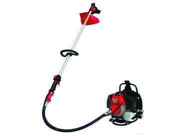 Gas / Petrol Backpack Brush Cutter with Straight Metal Blade Cutting Type