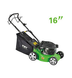 China 16 Inch Hand push gasoline Garden Lawn Mower self - propelled factory