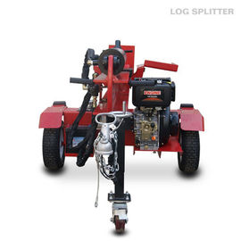 China 1050mm Petrol 4 Stroke trailer mounted hydraulic wood splitters distributor