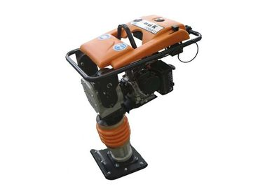 China Manaul portable 4 HP gasoline Tamper Rammer Compactor , construction tamping rammer distributor