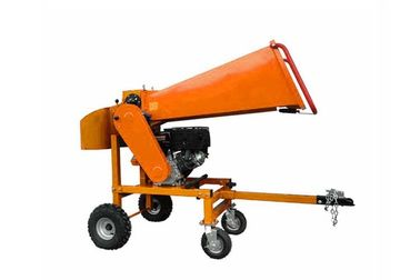 China 13hp Briggs Engine Firewood Processor Gardening Machines Wood Cutting Gasoline Branch Logger distributor