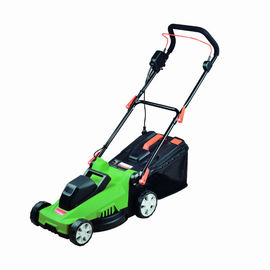 China Garden Tools 35cm Smart Metal Lawn Mower 1400W With Anti - Vibration System factory
