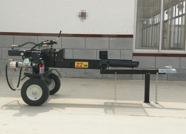 China Gasoline Firewood Log Splitter B&S XR950 Vertical Hydraulic Wood Splitter 26 Ton distributor