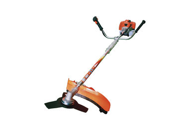 2 In 1 Gasoline 43cc Grass Cutter Machine / 25/1 Oil Mixing Grass Trimmer